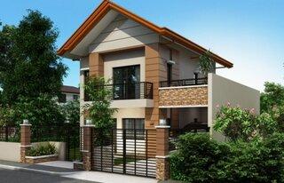proiect 1 casa ingusta cu terasa deasupra garajului