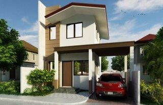 proiect 2 casa cu parter si etaj foarte ingusta
