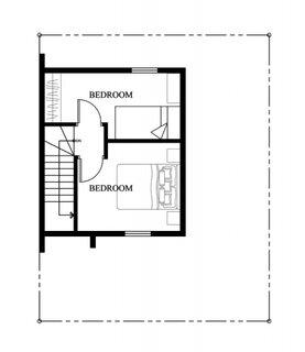 proiect 2 etaj cu 2 dormitoare