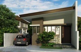 proiect 4 casa cu parter cu amprenta 33 mp