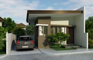 proiect 4 casa cu parter ingusta cu 1 dormitor