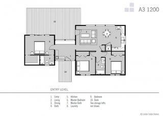 3 Plan casa la tara cu 3 dormitoare suprafata 110 metri patrati