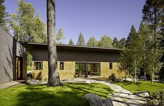 8. Proiect casa la tara cu parter si doua dormitoare