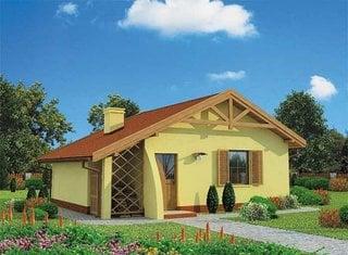 Casa mica de 48 mp cu 1 dormitor