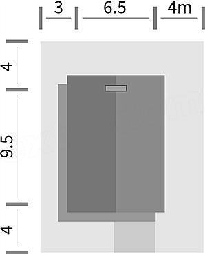 Dimensiuni teren casa mica cu un dormitor si living
