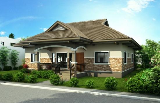 5 Casa mica cu intrare acoperita
