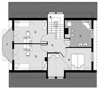 Etaj cu 3 dormitoare