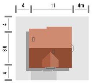 Dimensiuni casa cu 3 dormitoare