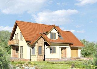 Casa P+M cu arhitectura clasica