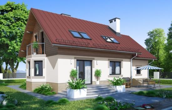 Casa P+M cu garaj