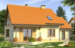 Casa cu suprafata de 120 mp