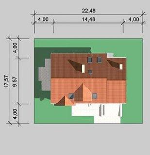 Dimensiuni teren casa cu arhitectura clasica