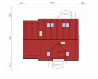 Dimensiuni teren casa spatioasa cu garaj