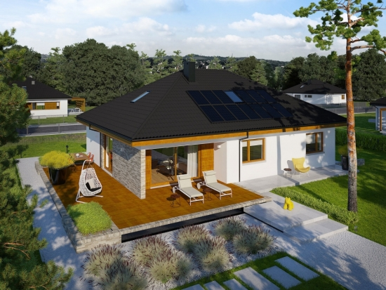 Casa doar parter stil modern