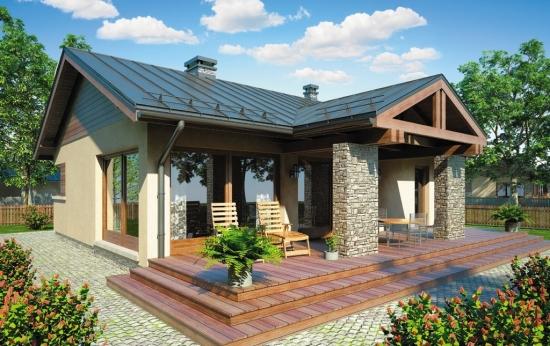 Proiecte de case fara etaj cu 2 dormitoare 3 locuinte for Proiect casa 100 mp fara etaj