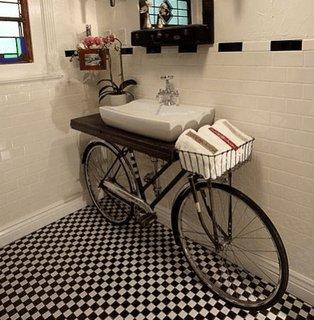 Suport chiuveta baie din bicicleta