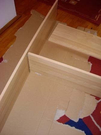 Raft debara mobilier hol transversal