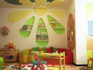 Etajere din rigips camera copil