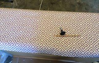 Acoperire sertar cu material pentru tapiterie