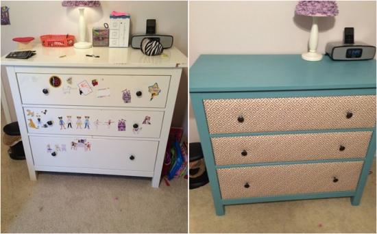 Simplu si ingenios: Reconditionare comoda cu sertare de la IKEA