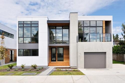 Proiect de casa parte si etaj cu garaj la parter