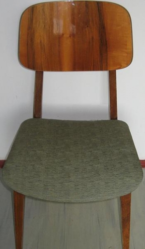 Asa arata scaunul dupa retapitare