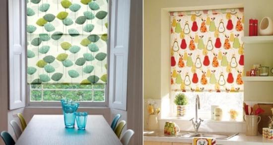 Rolete textile pentru bucatarii cu stil si eleganta