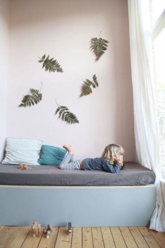 Asortare culori pastel pentru camera copii