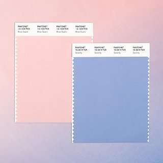 Culoarea anului de la Pantone are doua tonuri rose quartz si albastru serenity