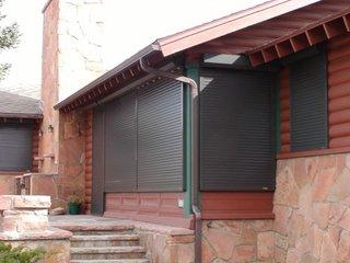 Termostoruri sau rulouri aplicate din PVC culoare gri inchis