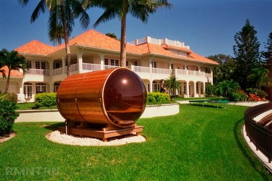 Sauna butoi moderna