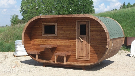 Sauna eleganta tip butoi