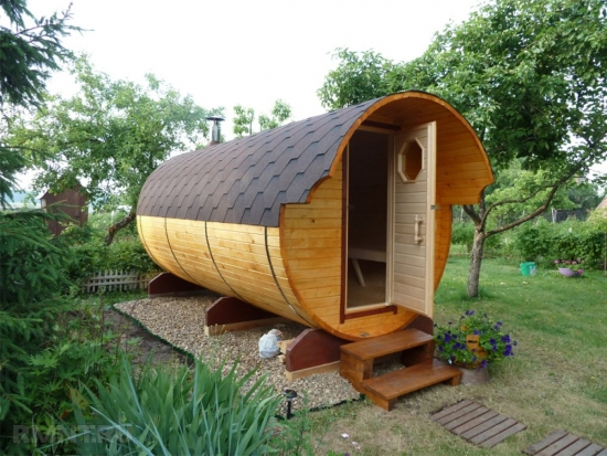 Sauna mare tip butoi