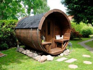 Sauna rustica tip butoi