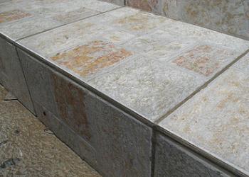 Trepte placate cu gresie de exterior