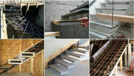 Proiect scara interioara + calculator pentru dimensiune trepte