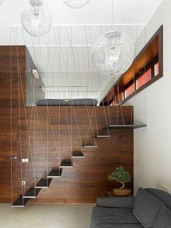 Protectie pentru scari din impletitura de fire textile