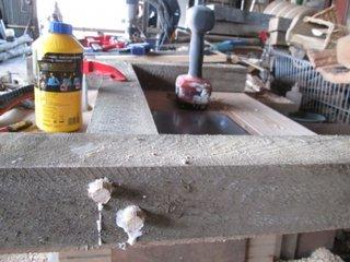 Construire cadre din lemn pentru sustinere scaune
