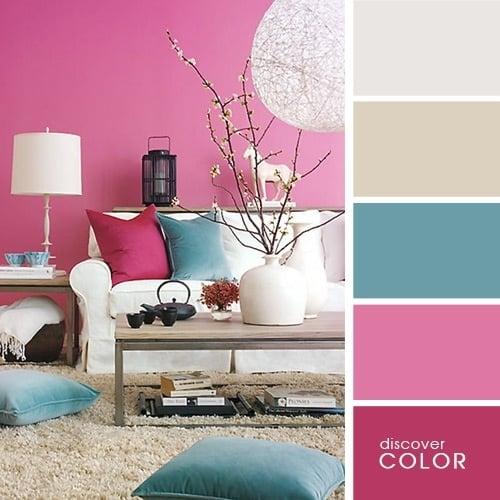 Combinatiile perfecte de culori pentru amenajarile interioare