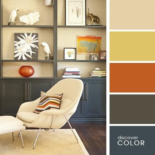 Schema culori neutre pentru amenajare interioara eleganta