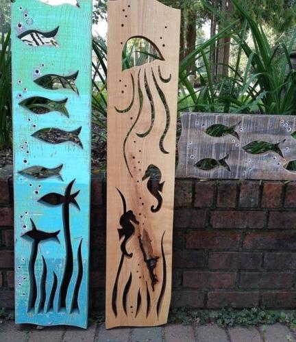 Decoratiuni din lemn pentru gradina