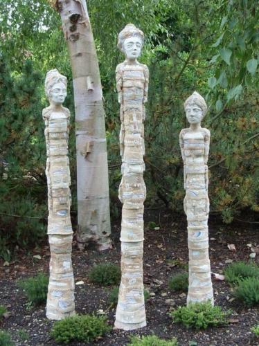Figurine de gradina inalte