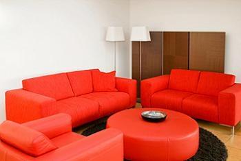 Set canapele fixe si fotoliu pentru living