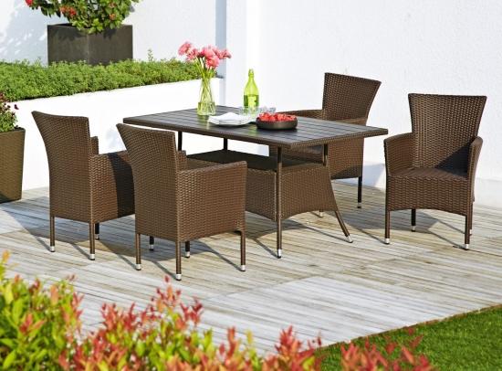 6 seturi de mese si scaune pentru terasa ta - prezentare de produse cu imagini si preturi