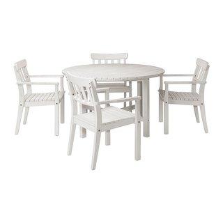 Set masa si patru scaune pentru gradina Ikea