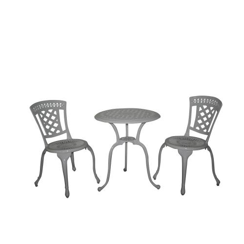 Set mobilier gradina din aluminiu vopsit electrostatic