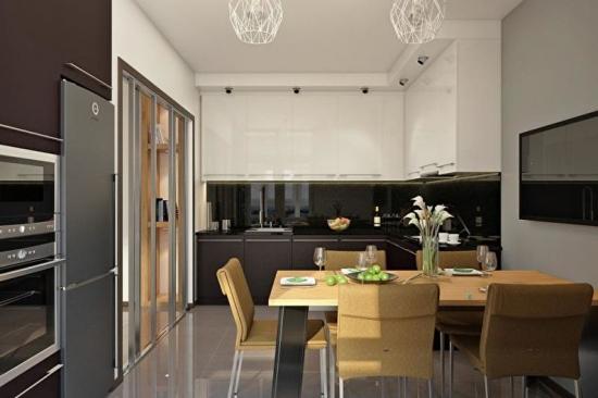 Bucatarie cu design modern