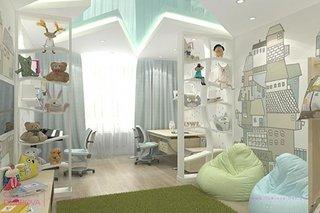 Dormitor copil mobilat IKEA