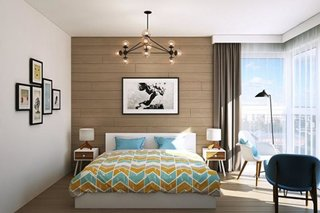 Dormitor modern apartament
