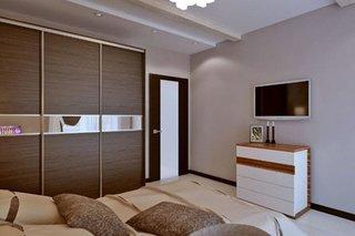 Dulap cu usi glisante in dormitor